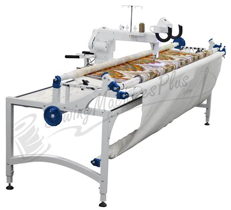 longarm quilting machines upgraded top of the line 18 quot arm quilter w px frame