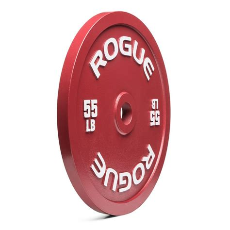 calibrated plates steel lb rogue plate weight fitness bars 5lb standing 55lb background roguefitness
