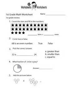 printable worksheet for grade 1 grade math worksheets printable new calendar template site