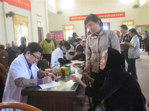 chung tay vì sức khỏe cộng đồng khám bệnh và cấp phát