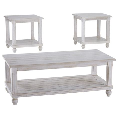 Find stylish home furnishings and decor at great prices! Signature Design by Ashley Cloudhurst Cottage Three Piece Occasional Table Set   Houston's Yuma ...