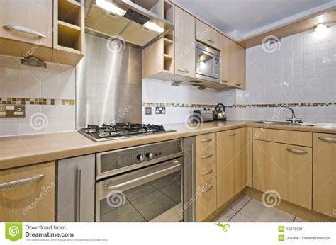 cuisine element cuisine avec l élément en bois dur