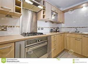 cuisine avec l39element en bois dur image stock image du With model element de cuisine photos