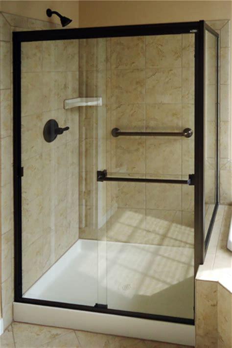 basco shower door choosing basco shower doors instead of shower curtains