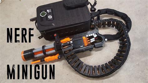 Nerf Rival Minigun (20 Rounds/sec, 2000 Round Capacity