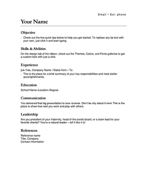 resume for transfer resumes and cover letters office