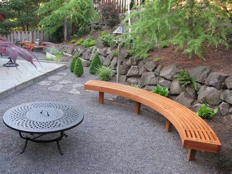 Best 25+ Curved Outdoor Benches Ideas On Pinterest