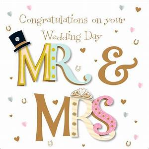congrats on your wedding day more than words With wedding cards sayings congratulations