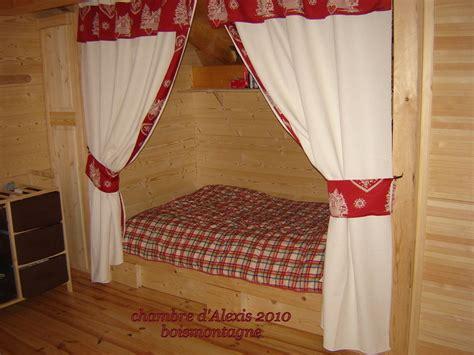 les chambres des enfants bois  montagne