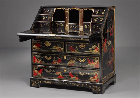 export bureau export lacquer bureau kollenburg antiquairs