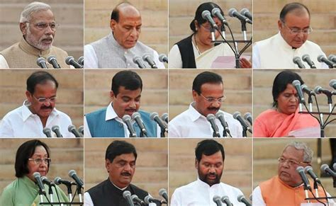 Cabinet Ministers Of Modi Government by Prime Minister Narendra Modi S Council Of Ministers The