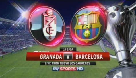 granada  barcelona  stream  highlights