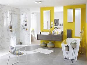 salle de bains quel revetement choisir travauxcom With revetement salle de bain leroy merlin