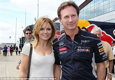 geri horner formula 1 geri halliwell f1 chief christian horner and his pregnant