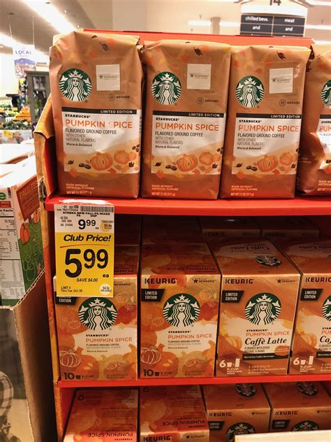 Starbucks, dunkin donuts, and mccafe pictures. Starbucks Pumpkin Spice Coffee and Fall Blend Coffees Just $4.99 at Safeway - Super Safeway