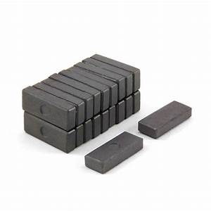 25 x 10 x 5.1mm thick Y10 Ferrite Magnets | first4magnets.com