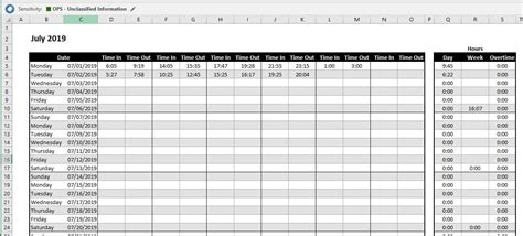 excel formula  calculate overtime hours  working
