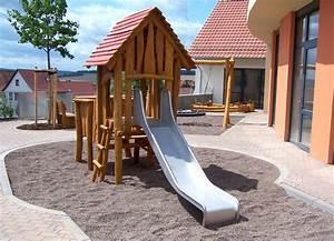 Rutsche Kinder Garten : sandspielhaus mit rutsche ziegler spielpl tze ~ Articles-book.com Haus und Dekorationen