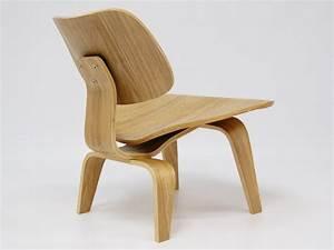 Chaise Chene Clair : chaise eames lcw ch ne clair ~ Teatrodelosmanantiales.com Idées de Décoration
