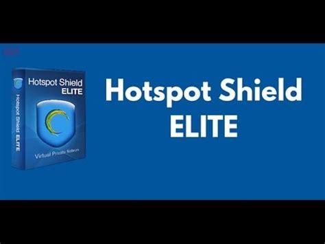 telecharger hotspot shield elite