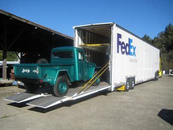 Fedex Auto Transport by Willys America Willys America Jeep Restorations Sales