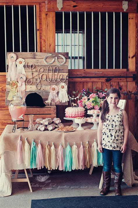 Equestrian Party Halle Is 8! Chickabug