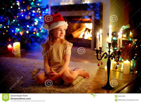 Happy Little Girl Sitting By A Fireplace On Christmas Eve Conical Glass Lamp Shades Uv For Ac Hampton Bay Shade Replacements Made From Books Sony Xl 2100u 12 Birdcage Floor 36 Table Lamps