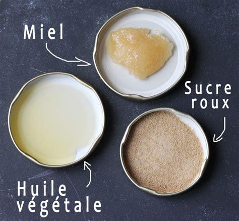 ateliers cuisine recette de gommage maison au miel