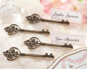 place card holders wedding vintage key place card holder key to my