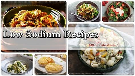 Top 12 Healthy And Tasty Low Sodium Recipes