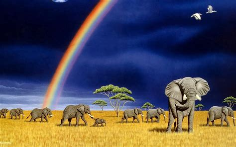 Animated Elephant Wallpaper - beautiful elephants high resolution images hd wallpapers