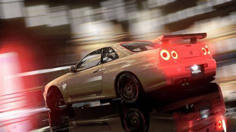 car nissan video games   speed nissan skyline
