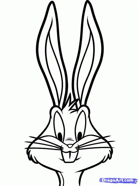 draw bugs bunny easy step  step cartoon network