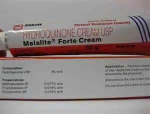 4% Hydroquinone Skin Bleaching Cream