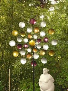 Windräder Für Den Garten : windrad regenbogen gartenstecker metall windspiel h he 197 cm d ca 80 cm 3fach ebay ~ Indierocktalk.com Haus und Dekorationen