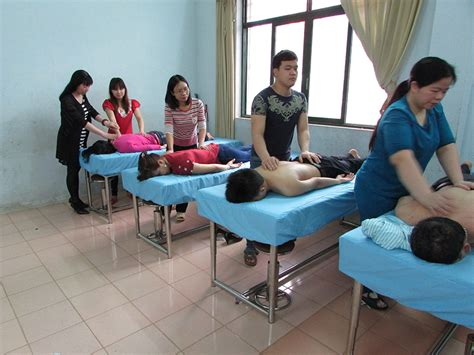 14 visually impaired students qualify as massage therapists in vietnam australian marist
