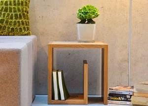 Table De Chevet Bois Massif : table de nuit en bois design et moderne chez ksl living ~ Teatrodelosmanantiales.com Idées de Décoration