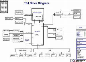 Toshiba Satellite L700  L745 Schematic Uma Da0te4mb6d0 Quanta Te4  U2013 Laptop Schematic
