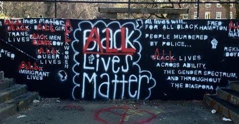 time  responds  black lives matter