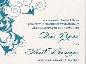free wedding invitation card templates download With wedding invitations ecards download