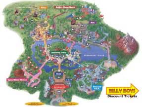 Animal Kingdom Orlando Park Map