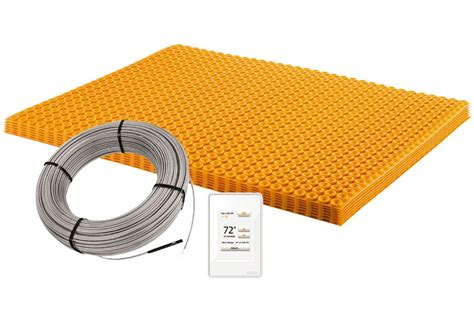 Schluter Heated Floor Kit by Schluter 174 Ditra Heat E Kit Floor Warming Schluter Ca