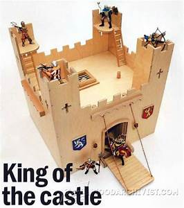 Wooden Castle Plans - Children's Wooden Toy Plans and
