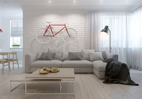 scandinavia apartment  kaschuk kostyantyn design
