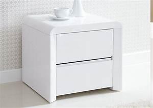 Table De Chevet Blanche Ikea : table de nuit blanche originale 20 mod les super chic en styles vari s ~ Nature-et-papiers.com Idées de Décoration