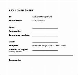 fax cover sheet 27 download free documents in pdf word sample templates With generic fax cover sheet pdf