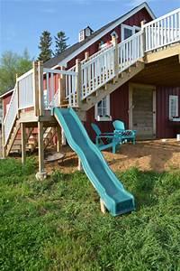 Creating a slide on a deck platform - NewlyWoodwards