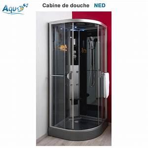 Cabine De Douche 170x80 : cabine de douche hydro ned grise 90 x 90 sachcabnedrg90 aqua ~ Edinachiropracticcenter.com Idées de Décoration