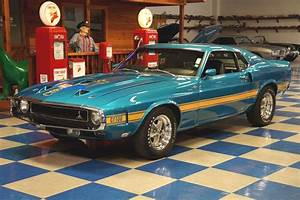 1969 Ford Mustang Shelby GT500 – Gulfstream Aqua – A&E Classic Cars