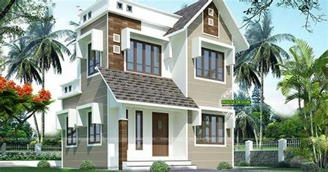 8 Lakhs Home Design : Double Storied House 13 Lakhs
